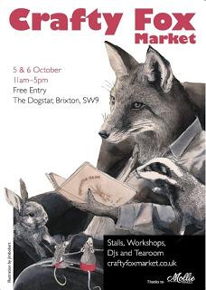 Crafty Fox market Autumn 2013