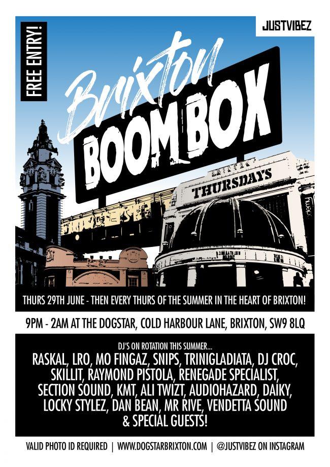 Brixton Boom Box