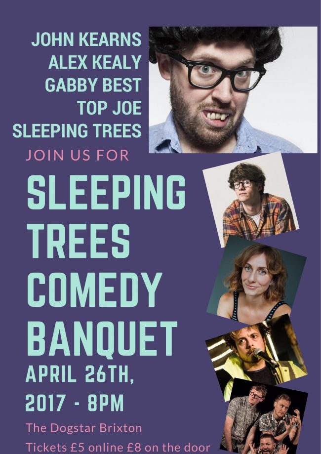 Sleeping Trees Comedy Banquet: John Kearns
