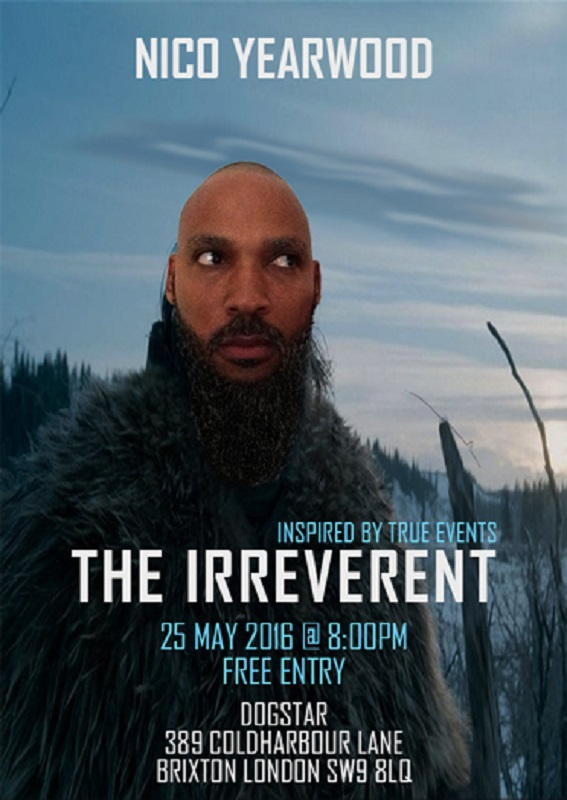 Comedy: The Irreverent with Nico Yearwood