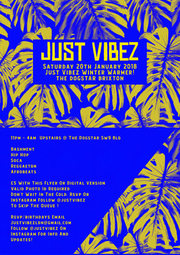Just Vibes Winter Warmer
