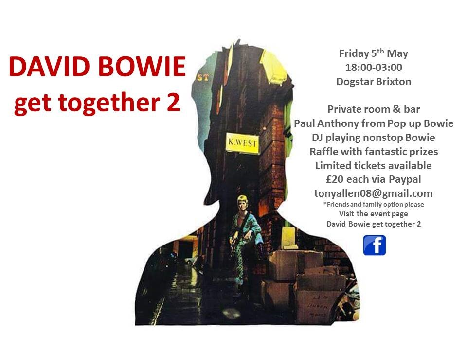 DAVID BOWIE get together 2