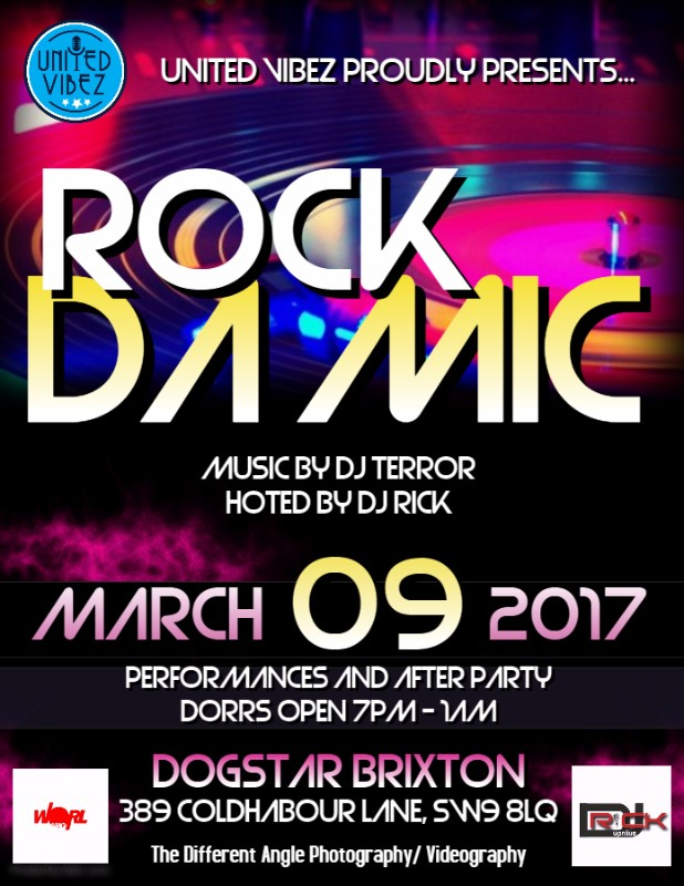 United Vibez presents  Rock Da Mic