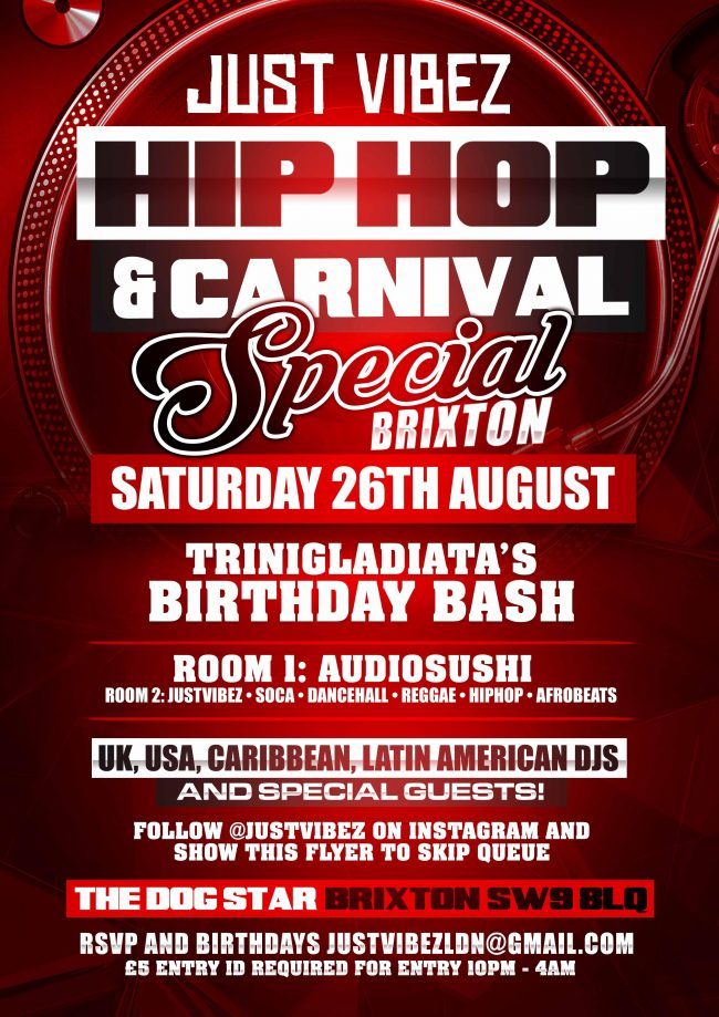 Just Vibez Carnival Special